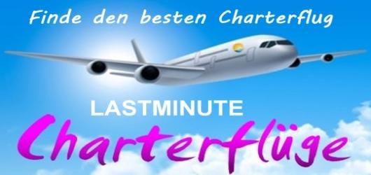 Charterflug buchen