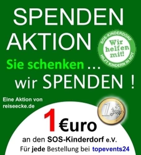 Tickets online - Schenken und Spenden